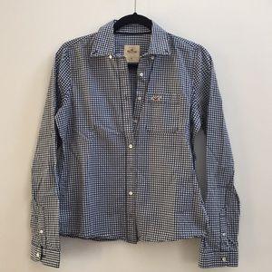 Hollister check plaid shirt Medium Cotton
